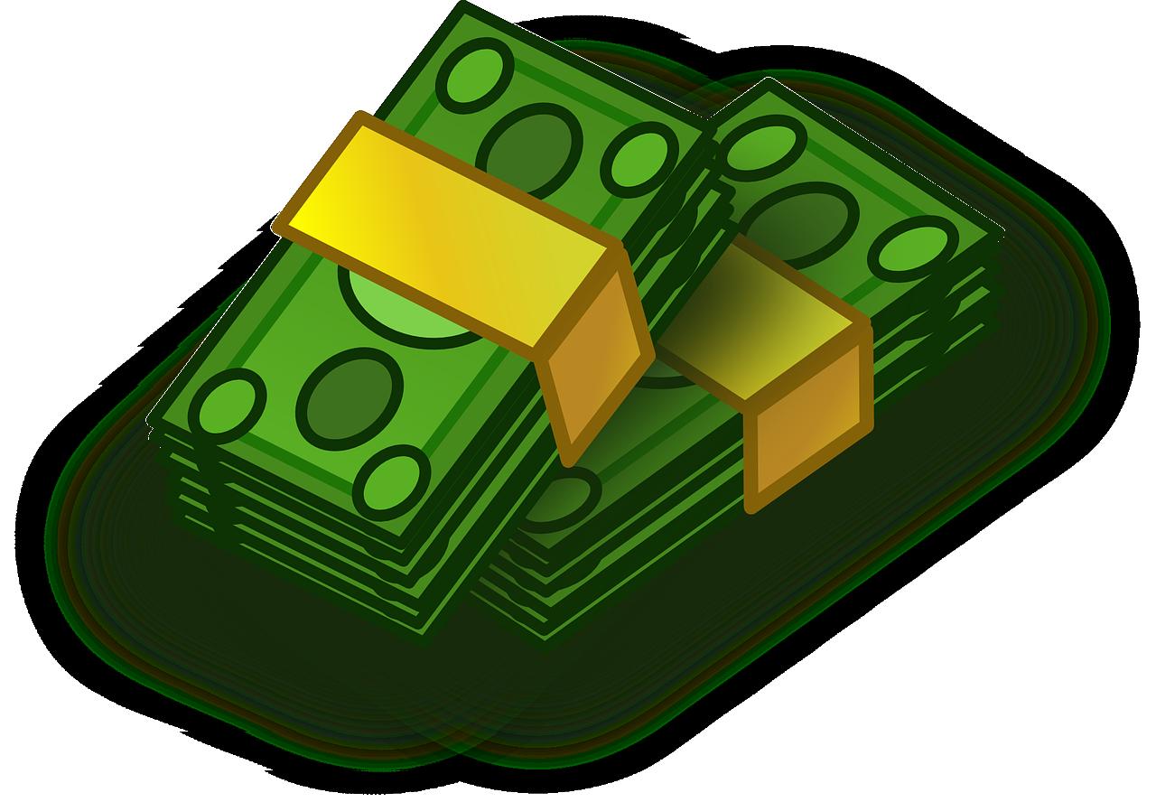 banknotes, bankroll, bill